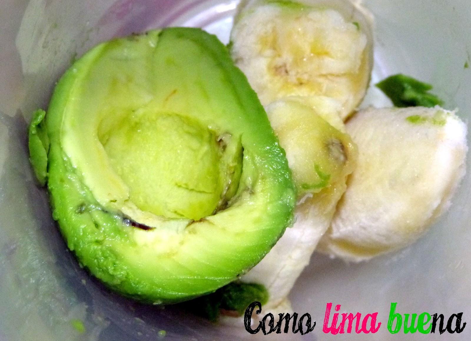Como Lima BUEna: Postrecito fácil de banana, palta y cacao: ¡Ideal ...