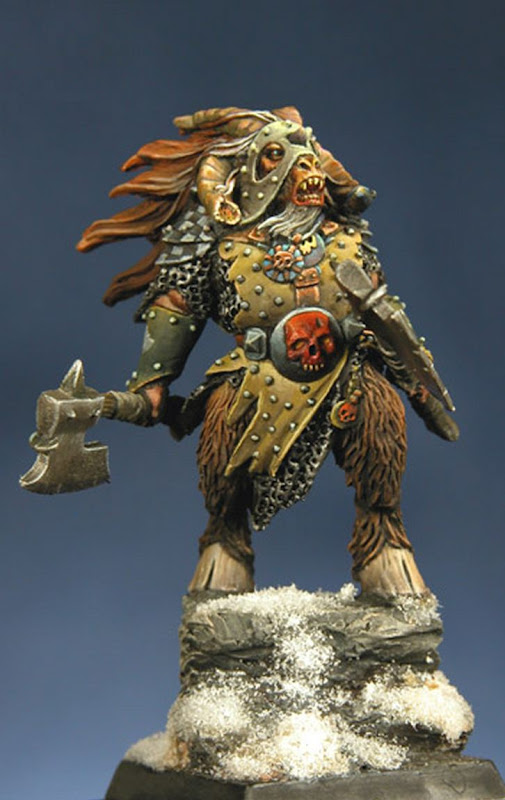Expertly painted Beastmen Lord