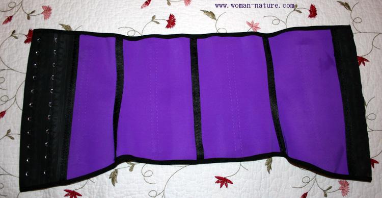 ann chery corset morado