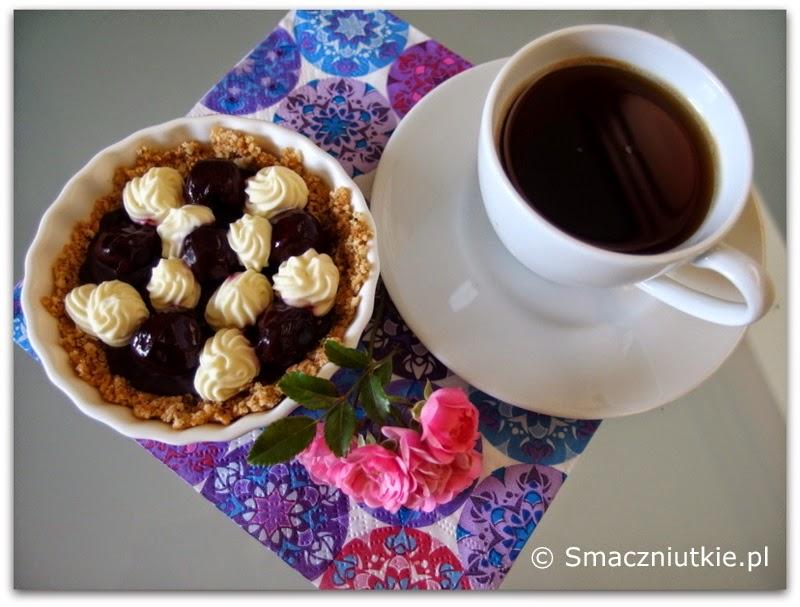Tartaletki z mascarpone i wiśniami
