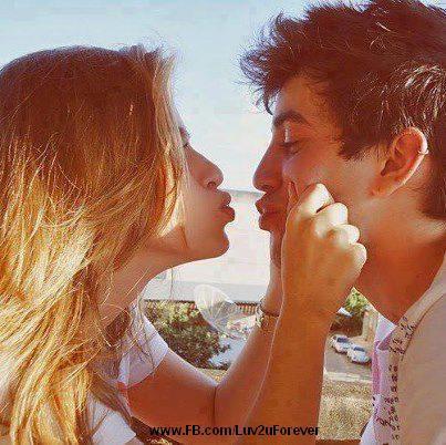 Gf with bf create a romantic mood kissing pose lov m now romantic couple lovehappy valentine day altavistaventures Gallery