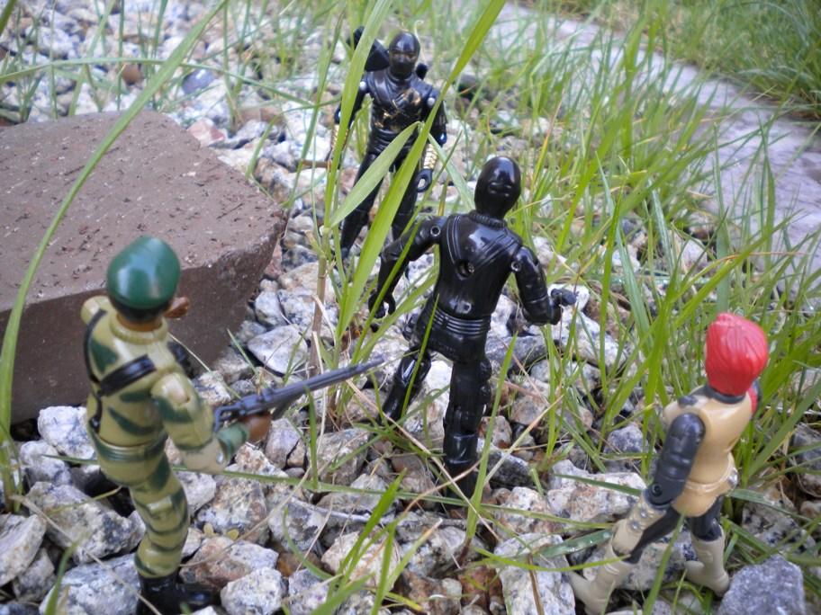 Ninja Ku, Ninja Black, Stormshadow, Argentina, Plastirama, Rare G.I. Joe Figures, 1983 Stalker, Snake Eyes