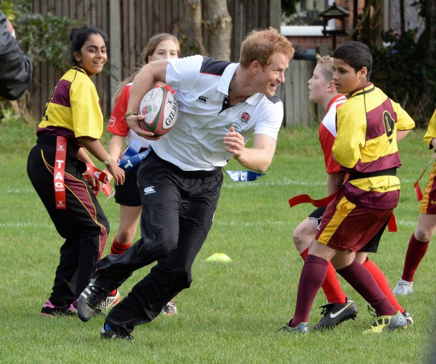 The premise of the All Schools project, which was created to support England's upcoming hosting duties for the 2015 Rugby World Cup