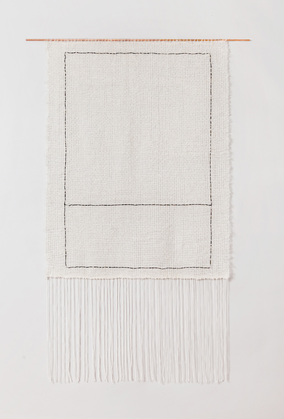 In The Fit For InsideOut Magazine Home Of My Dreams, Thereu0027s One Of These  Minimalist Brook U0026 Lyn Woven Hangings At The End Of The Hallway. Texture,  Baby.