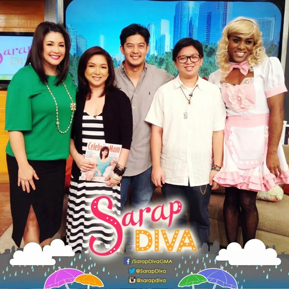 Source!: Sarap Diva with Romnick and Harlene and 'Kuya' 100414 Videos