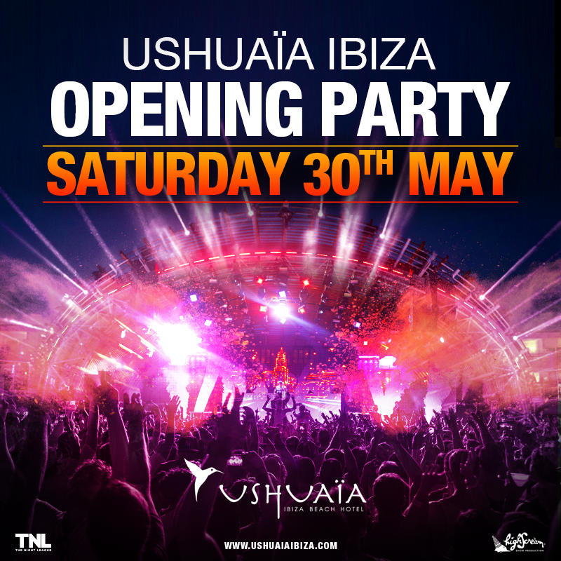 Ushuaïa Ibiza opening party 2015