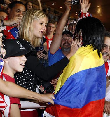 Marín: «Falcao sólo hay uno y es del Atlético»