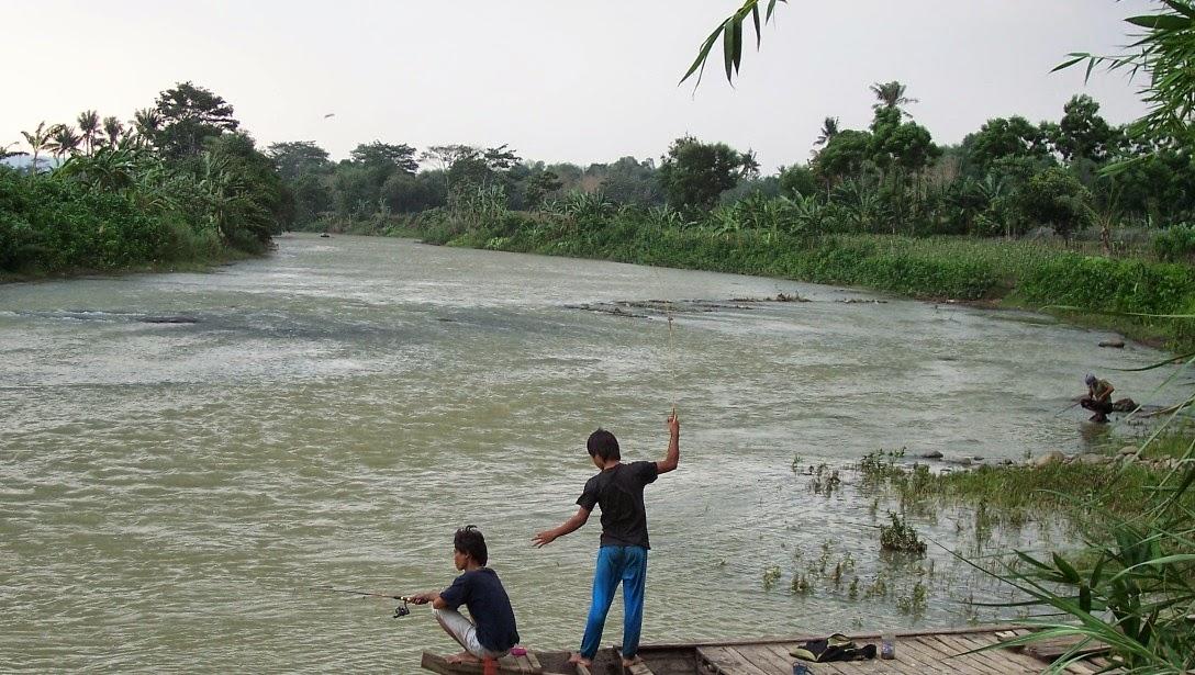 WARTA PANCING Memancing Di Sungai Arus Deras
