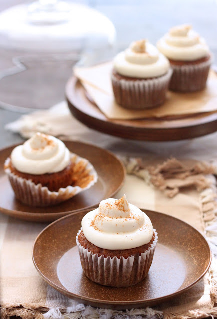 ... Cilantropist: Carrot Cake Cupcakes, with Maple Cream Cheese Frosting