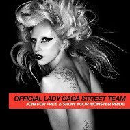 Become Member of Lady Gaga Street Team