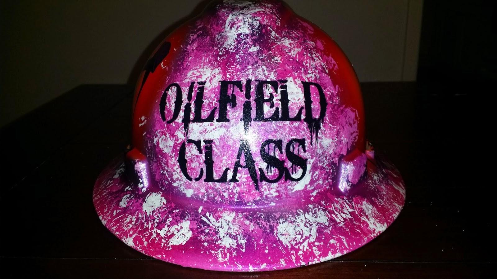 oilfield class ladies hard hat