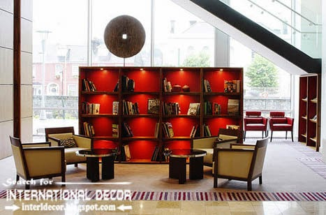 top modern home library design ideas furniture and organization, home libraries