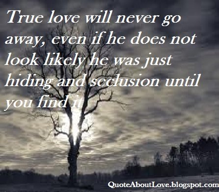 Quotes About Love Going Away : Quote about Love - When sweetheart go a long way , we still can wait ...