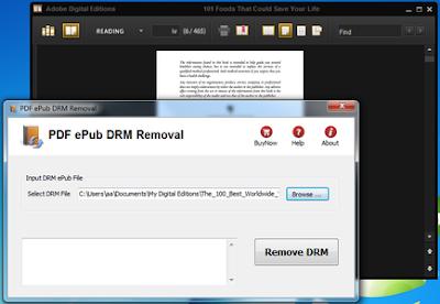 PDF ePub DRM Removal 3.0.2.186