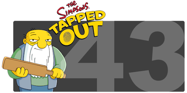 The Simpsons Tapped Out - Level 43 Update