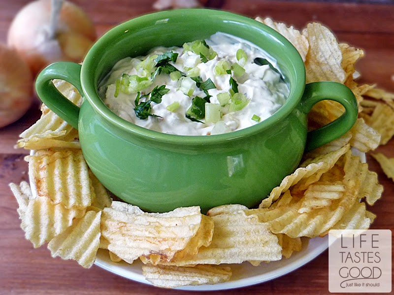 Creamy Caramelized Onion Dip | by Life Tastes Good is homemade ...
