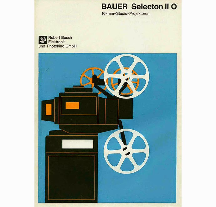 What inspired band name Bauer - Bauer film projector brochure
