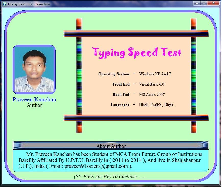 typing speed tester