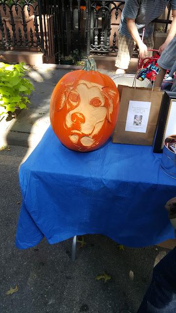 Dog Pumpkin Carving Booklyn