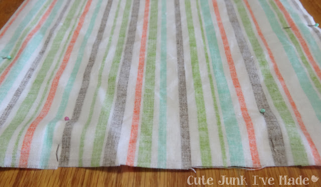 One-Hour Burp Cloths - Gap in pins