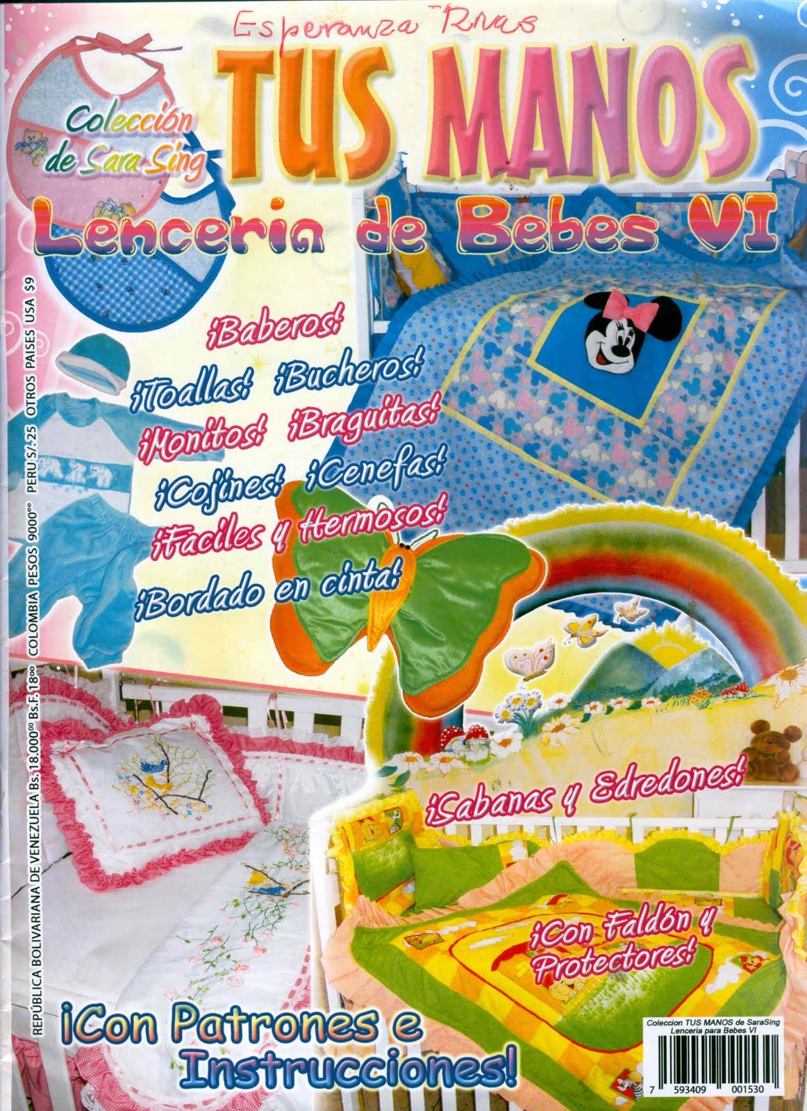 Revista Tus Manos Lenceria De Baño ~ Dikidu.com