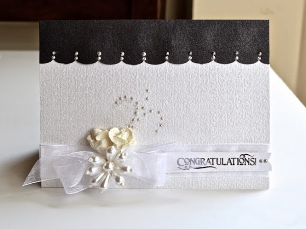 Congratulations Wedding Card by Pinky