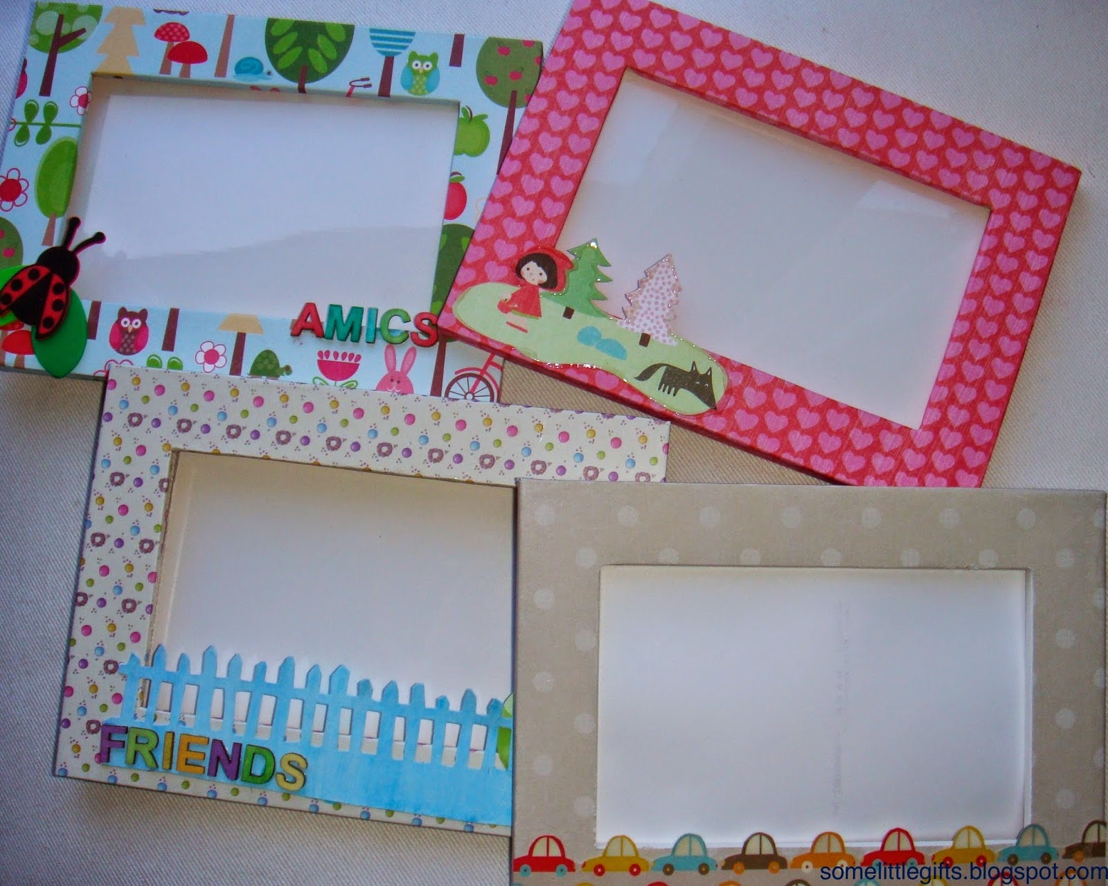 Marcos infantiles personalizados some little gifts - Decorar marco fotos ...