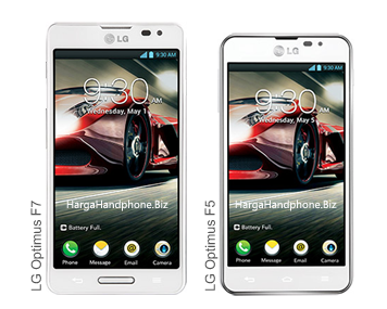 LG Optimus F5 & LG Optimus F7