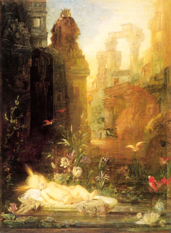 moreau moses paintings