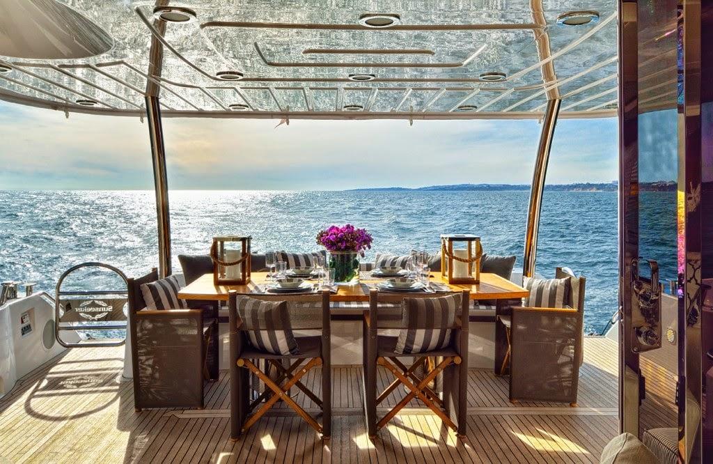 luxury boat interior design