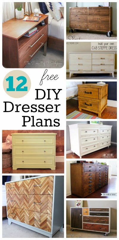 If You Have Been Stalking My Pinterest Boards Like Im Sure Many Of You Are You May Have Notice A Sudden Surge Of Diy Dresser Plans