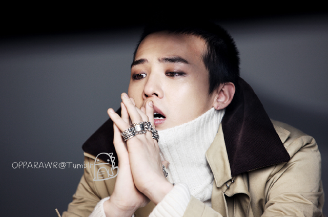 G-Dragon for First Look Magazine