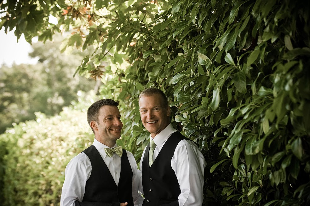 Mike & Mark wed at the Hall at Fauntleroy - Patricia Stimac, Seattle Wedding Officiant