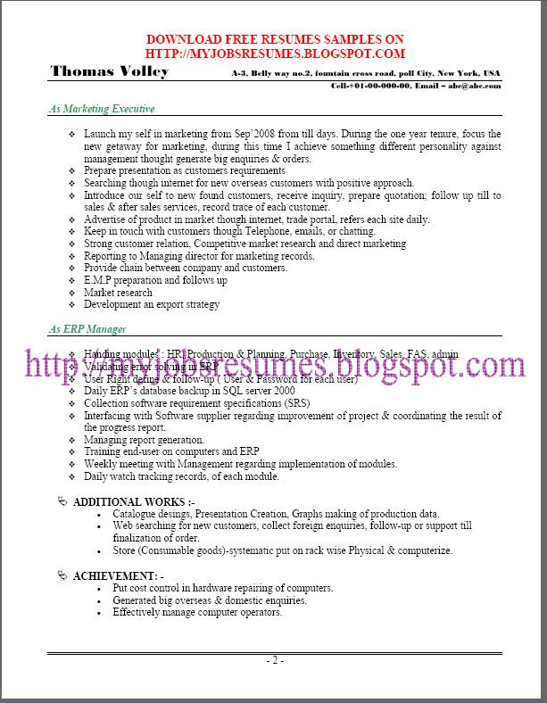 free resume samples for system administrator page no 02 iis systems administration sample resume