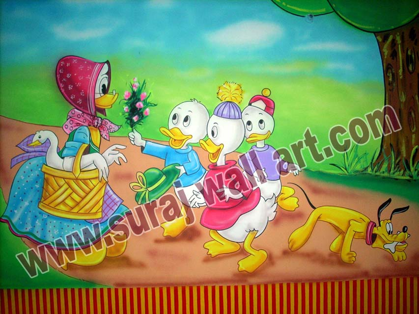 Wall Art For Play School : Suraj wall art play school painting in bharatpur