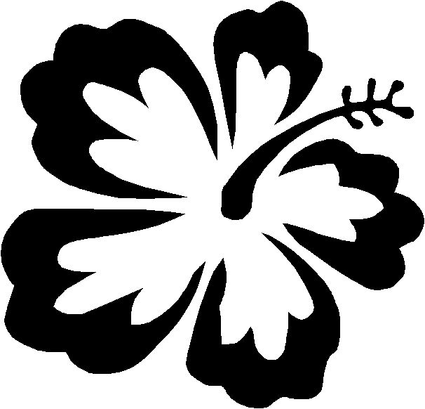 printable hawaiian flowers coloring pages - photo#29