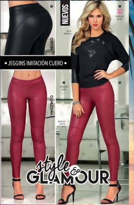 Jeggins imitacion cuero 2015