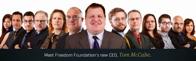 Tom McCabe takes the helm at the Freedom Foundation