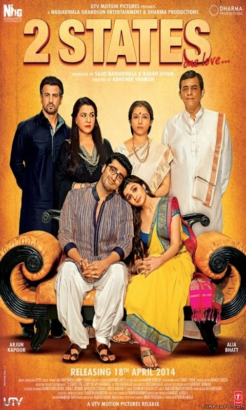 2 States (2014) Watch Online Full Movie Free Download Hindi Movie DVDScr