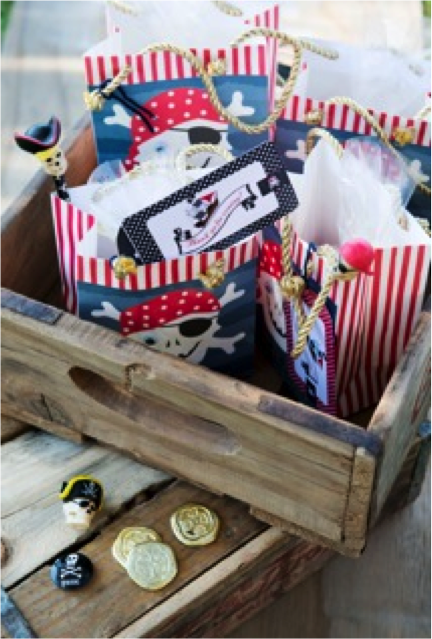 FOR GOOD TIMES - Friday Feature - Pirate Party Favours