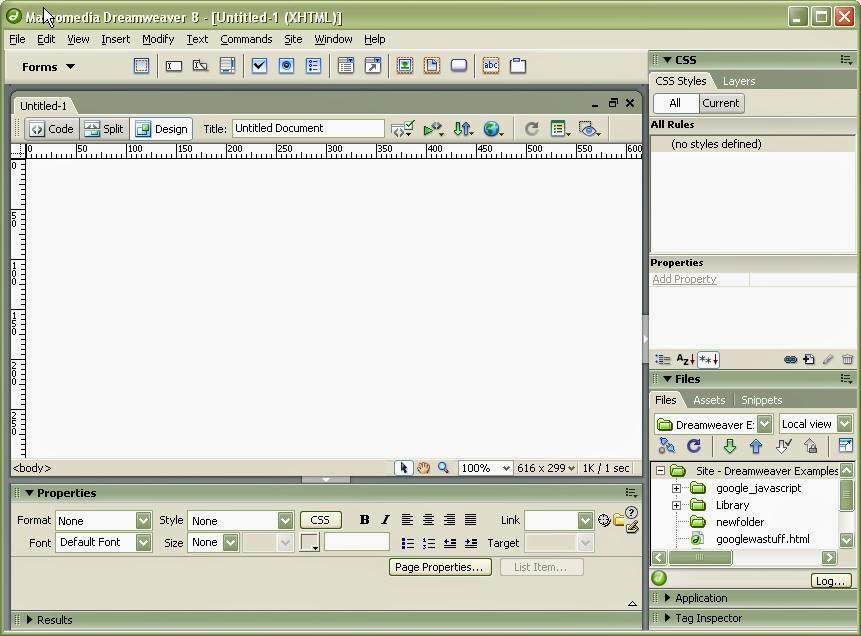 Macromedia Dreamweaver 8 Software - Free Download