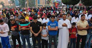 مواقيت صلاة عيد الفطر المبارك بمحافظات جمهورية مصر العربية