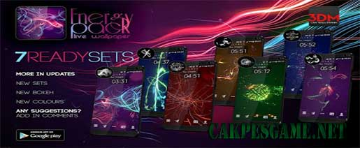Energy Pack Apk v1.0.0