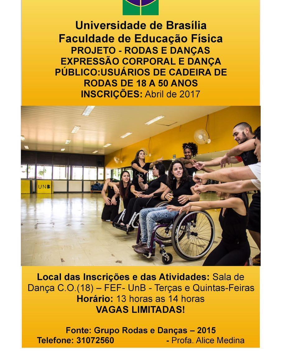 Projeto Rodas e Dança - UNB