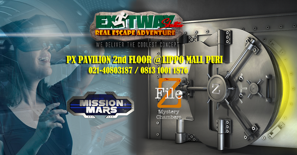 Real Room Escape Adventure - Exitway Studio Indonesia