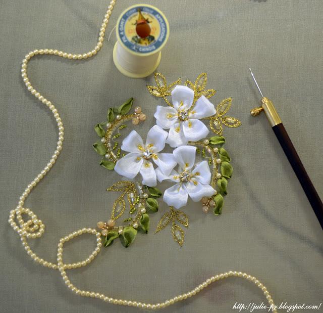 люневильская вышивка, вышивка люневильским крючком, la broderie de luneville