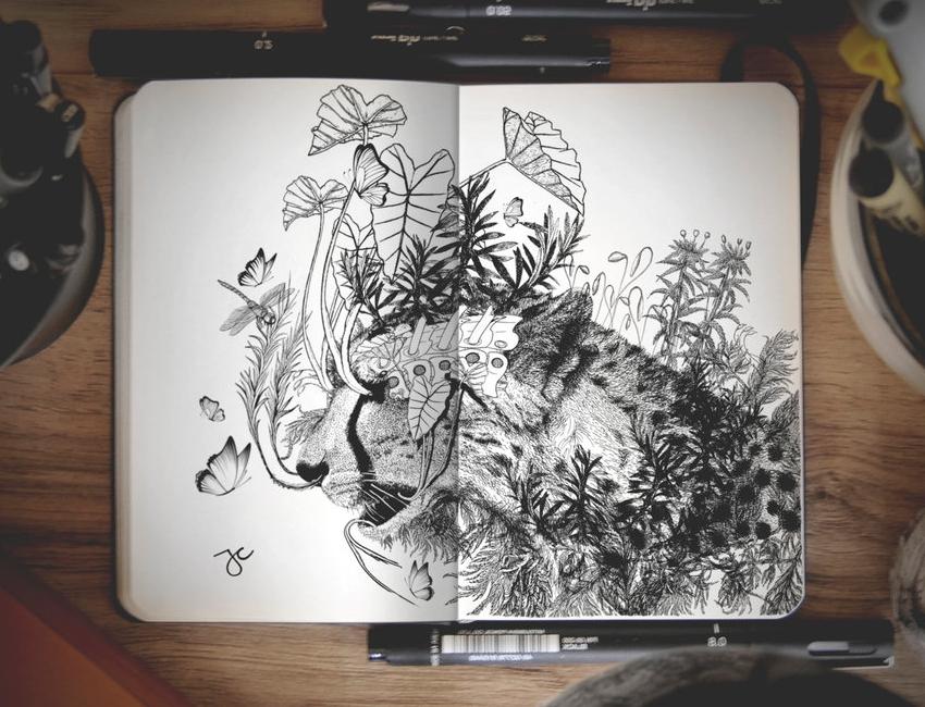 03-Broken-Joseph-Catimbang-Pentasticarts-Metaphysical-and-Surreal-Doodle-Drawings-www-designstack-co