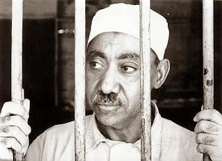 Sayyid Quthb di penjara (foto blogammar.com)