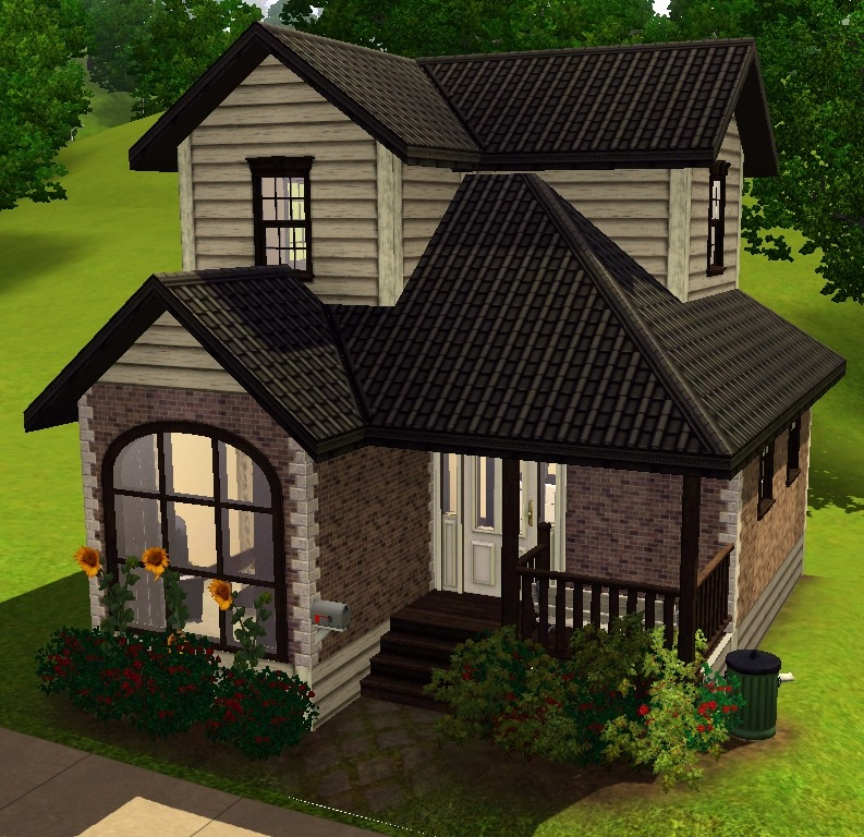 My sims 3 blog sep 14 2011 for Cheap 2 story houses