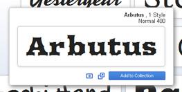 add google web font